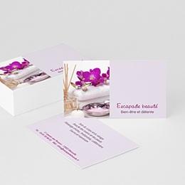 Carte de Visite Professionnel Salon de beauté