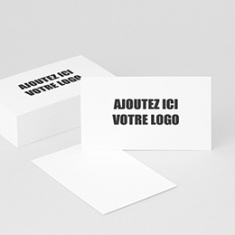 Carte de Visite Professionnel Ajoutez votre logo