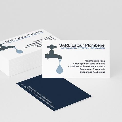 carte de visite plombier Carte de Visite Plombier | Satisfait ou Réimprimé | Carteland