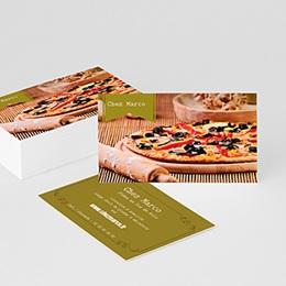 Carte de Visite Professionnel Pizzeria italienne