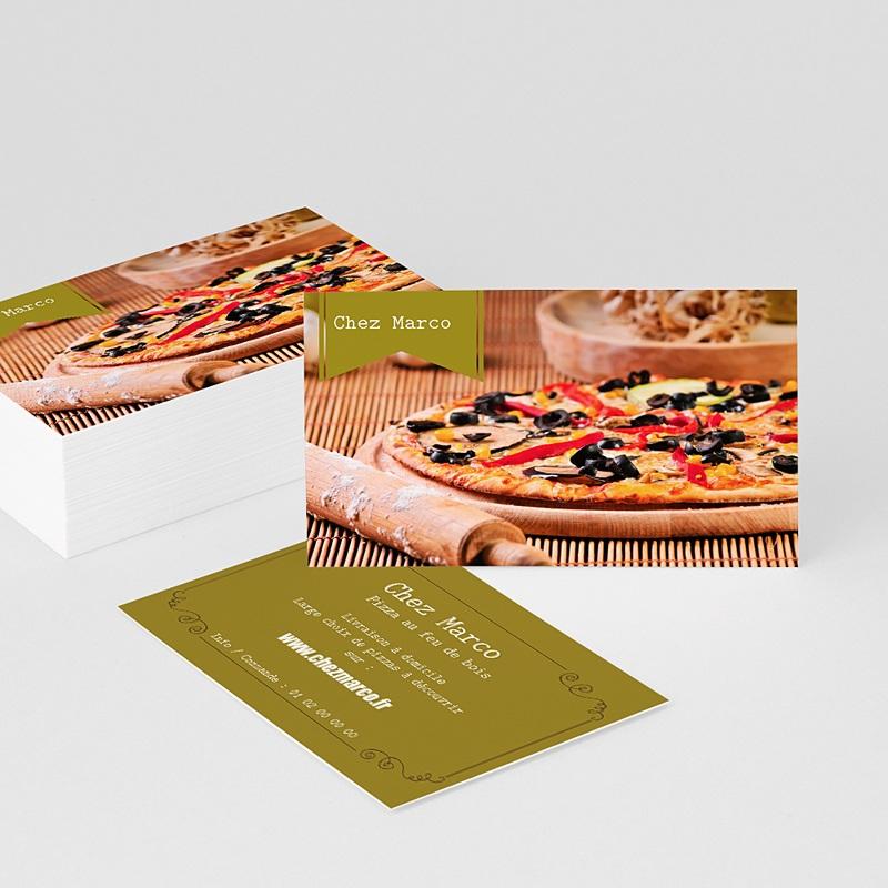 Carte de Visite Pizzeria italienne