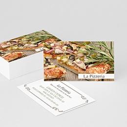Carte De Visite Professionnel La Pizzeria