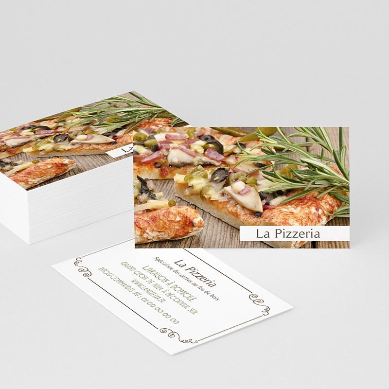 Carte de Visite La Pizzeria