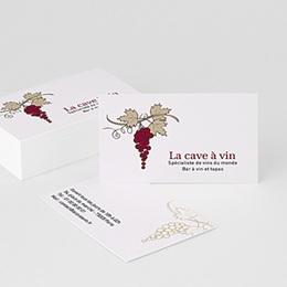 Carte de Visite Professionnel Bar à Vin