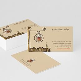 Carte de Visite Professionnel Brasserie