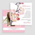 Carte remerciement communion fille Floraison de l'Esprit gratuit