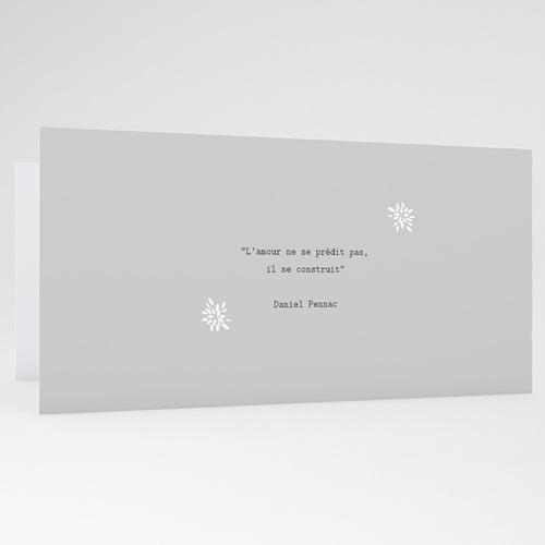 Carte invitation anniversaire mariage Florilège de souvenirs gratuit