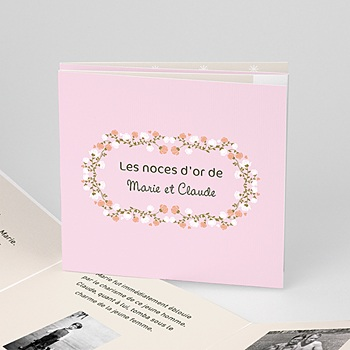Invitations Anniversaire Mariage - Une belle histoire - 1