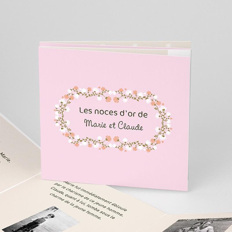 Invitations Anniversaire Mariage - Une belle histoire 17322 thumb