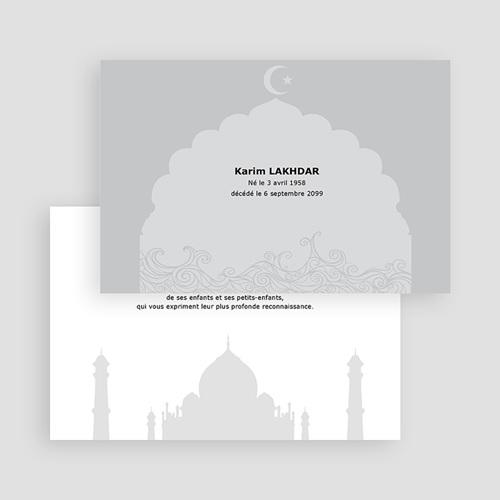 Carte Remerciement Décès Musulman Remerciements décès musulman gratuit