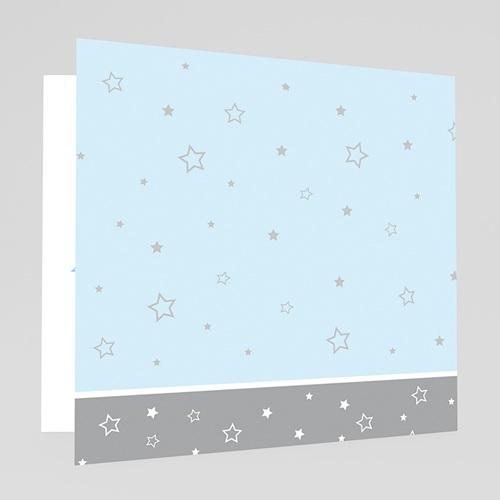 Carte de Voeux 2018 - Voeux bleu ciel et argentés 17469 thumb