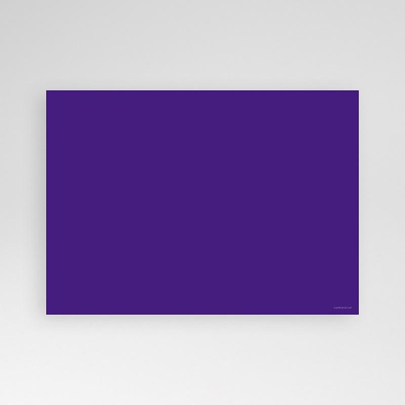 Carte Invitation Anniversaire Adulte Ombre Violette pas cher