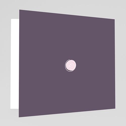 Faire-Part Mariage Personnalisés - Mariage en blanc et rose 17705 preview