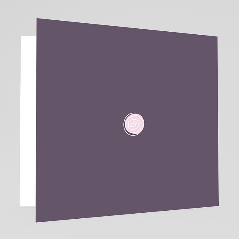 Faire part mariage violet - Mariage en blanc et rose 17705 thumb