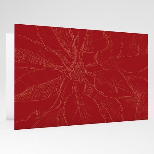 Carte de Voeux 2018 - Noel en rouge 17798 preview