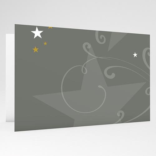 Cartes de Voeux Professionnels - Façades décorées - gris 17829 preview