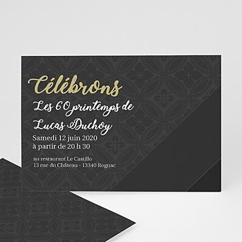 Invitation Anniversaire Adulte - Déroulement de la célébration - 3
