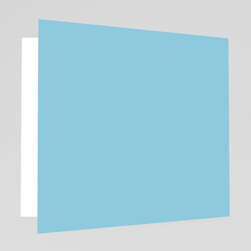 Faire-Part Naissance Garçon - Petit Porte-Bonheur - Bleu 17955 preview