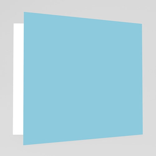 Faire-Part Naissance Garçon - Petit Porte-Bonheur - Bleu 17955 thumb