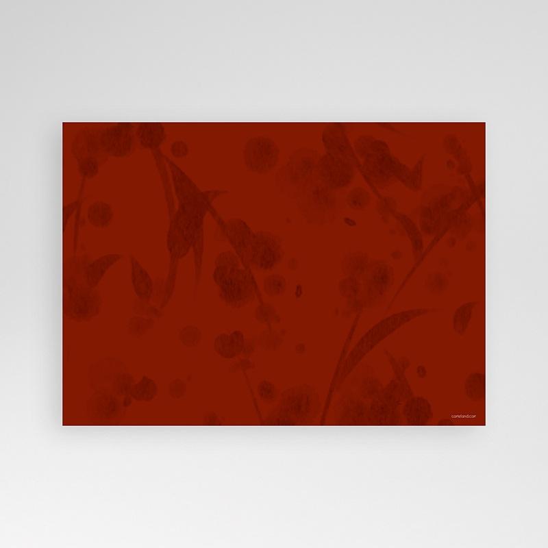 Carte Invitation Anniversaire Adulte Rouge tape à l'oeil pas cher