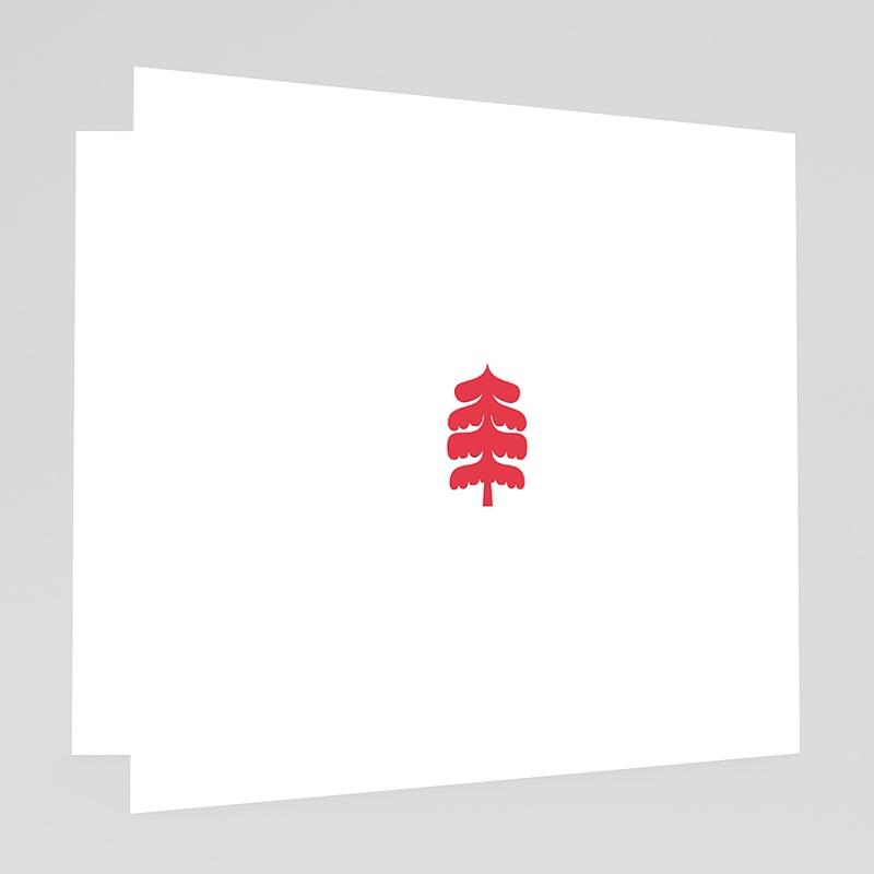 Carte de Voeux Joyeux Noel & Bonne année enneigée gratuit
