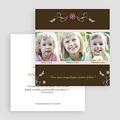 Faire-Part Adoption Fille Frissons de l'adoption gratuit
