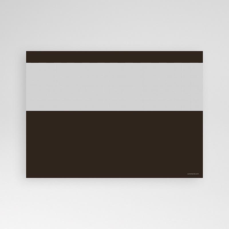 Carte Invitation Anniversaire Adulte Menthe Chocolat pas cher