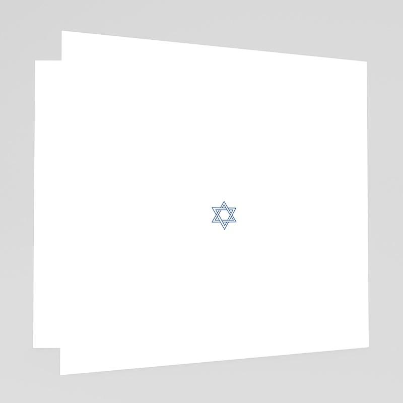 Faire-part bar-mitzvah  Menorah gratuit