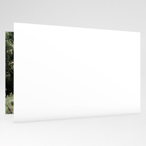 Carte invitation anniversaire mariage Noces de coquelicot - 8 ans gratuit