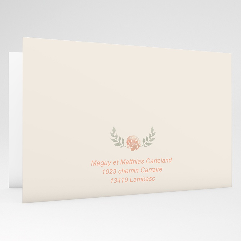 Invitations Anniversaire Mariage - Noces de Rose - 17 ans de Mariage 18332 thumb