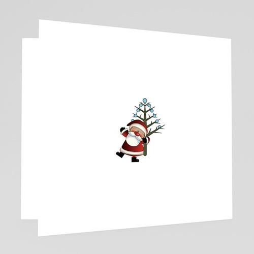 Carte de Voeux 2018 - Lumière de Noel 18377 thumb