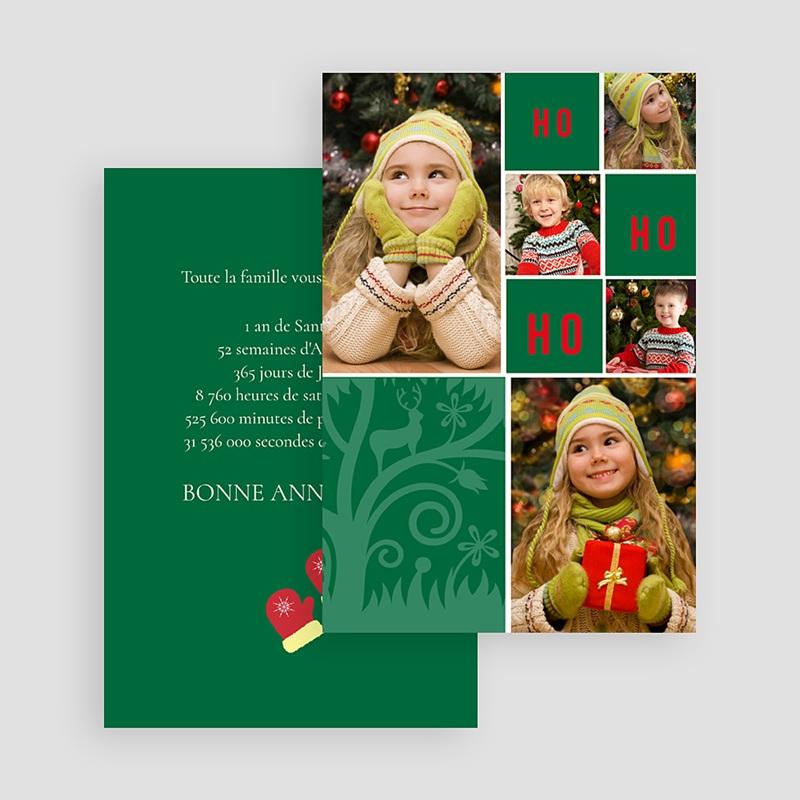 Carte Noël Joyeux Noël OH OH OH gratuit