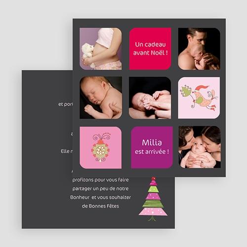 Carte de Voeux 2018 - Première carte de voeux de bébé 18452 preview