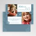 Carte invitation anniversaire adulte Fête d'une fleur gratuit