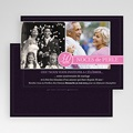 Carte Invitation Anniversaire Mariage Fleurs de Mariage gratuit