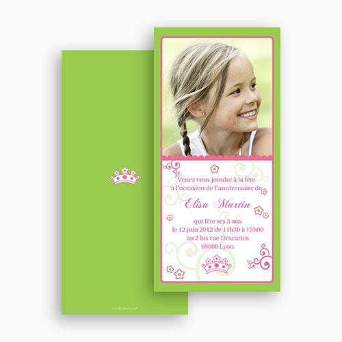 Invitation Anniversaire Fille - Jour de Gloire 18765 thumb