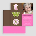 Invitations Anniversaire Fille - 2 ans 18820 thumb