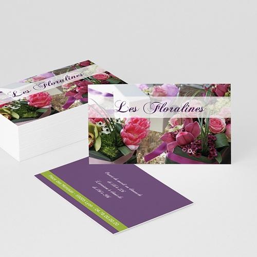 Carte de Visite - Les Floralines 1901 thumb