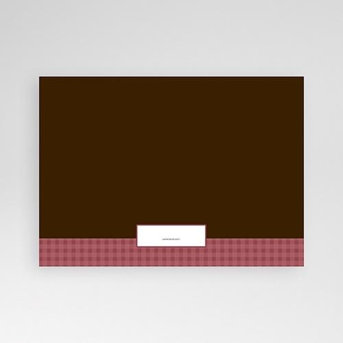 Carte Invitation Anniversaire Adulte Fraise et Chocolat pas cher