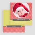 Carte Noël Joyeux Noël Adorable Corail gratuit