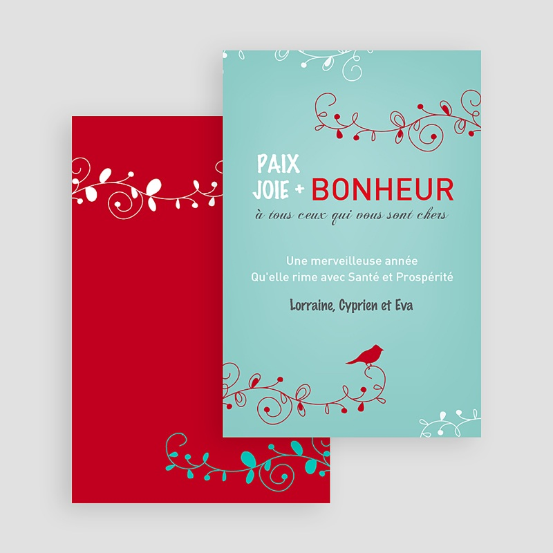 Carte de Voeux 2019 - L'Oiseau Rouge 19859 thumb