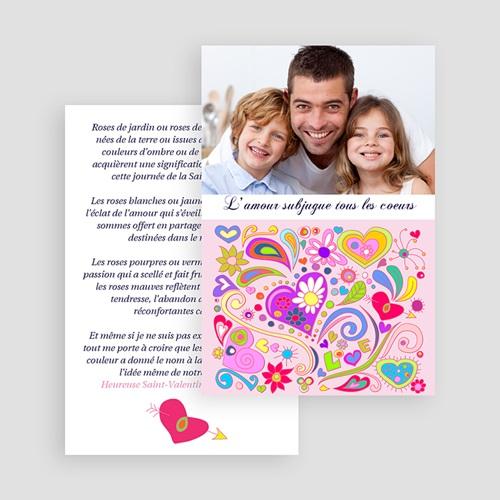 Cartes Saint-Valentin - Amour aux mille couleurs 19935 preview