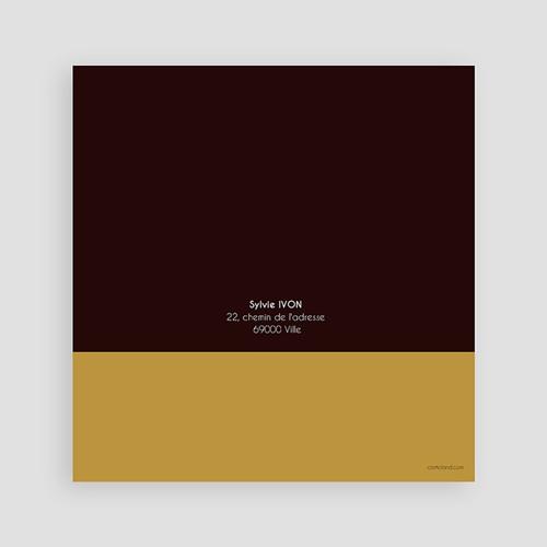 Invitation Anniversaire Adulte - 50 ans - Or et Chocolat 1995 preview