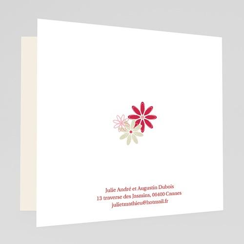 Faire-Part Mariage Personnalisés - Fleurs des Champs 19959 preview