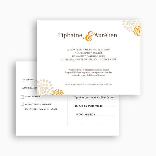Carton Invitation Personnalisé Campagne Provençale - Tiphaine gratuit