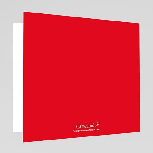Cartes Multi-photos 3 & + - Trois clichés-Rouge 20200 preview