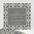 Carte Invitation Anniversaire Adulte Restau chic