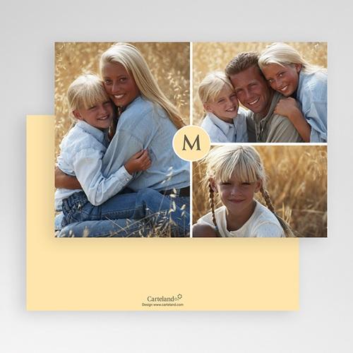 Cartes Multi-photos 3 & + - Trio - Bordures Blanches 20300 preview