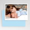 Carte personnalisée 1 photo Bordure blanche gratuit