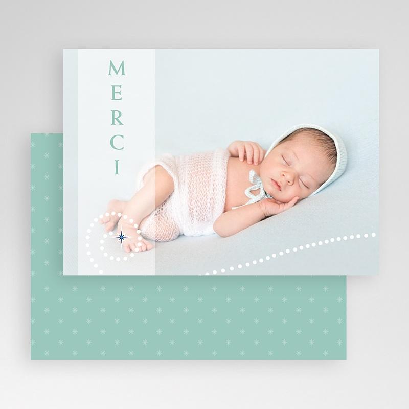 Carte personnalisée 1 photo Etoile et perles gratuit